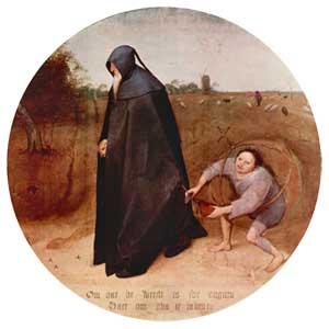 The Misanthrope, Pieter Bruegel the Elder